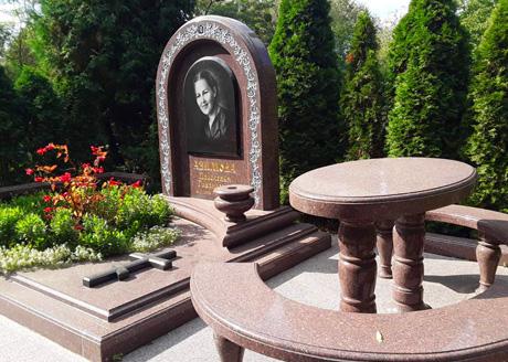 уборка могил на кладбище от бюро ТРАУР