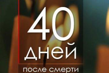 40 дней