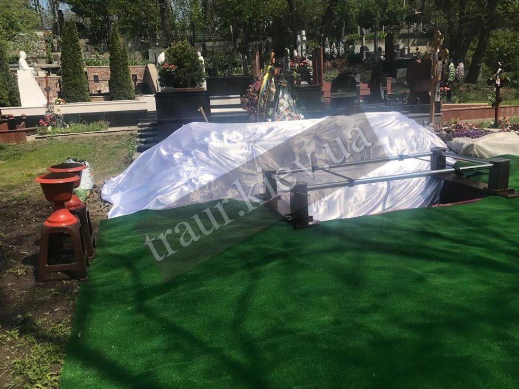проведение элитных похорон г. Киев